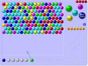 стрелять шарики