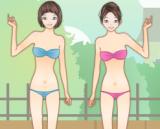 игры для девочек парные одевалки