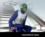 Игры прыжки на лыжах