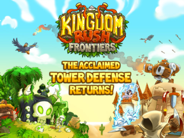 Kingdom rush frontiers играть